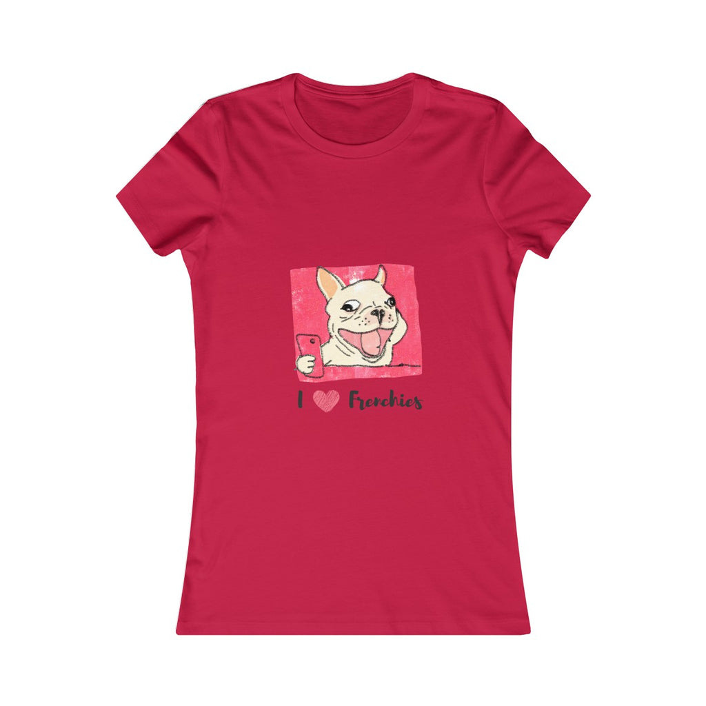 I heart Frenchies Women's Favorite Tee