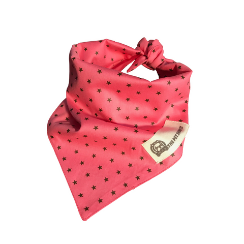 Bella B. Dog Bandana (Pink)