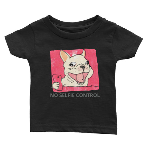 No Selfie Control Infant Tee
