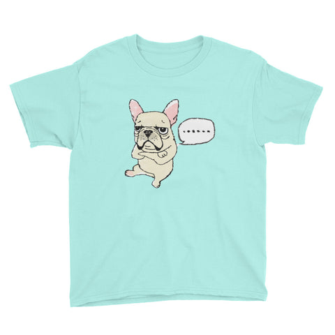French Bulldog Youth Short Sleeve T-Shirt