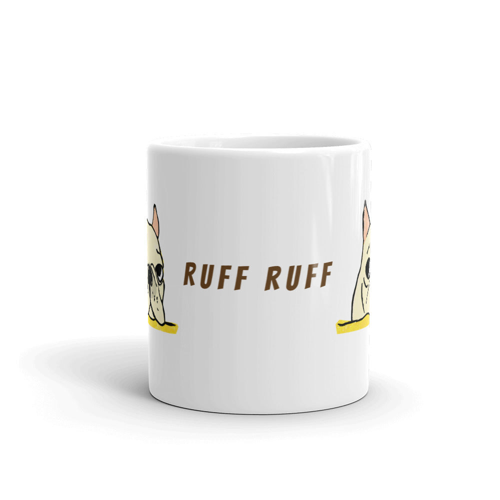 Ruff Ruff French Bulldog Coffee/Tea Mug