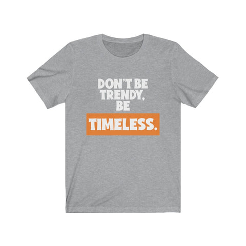 TIMELESS 1st Edition - Short-Sleeve Unisex T-Shirt (Orange)