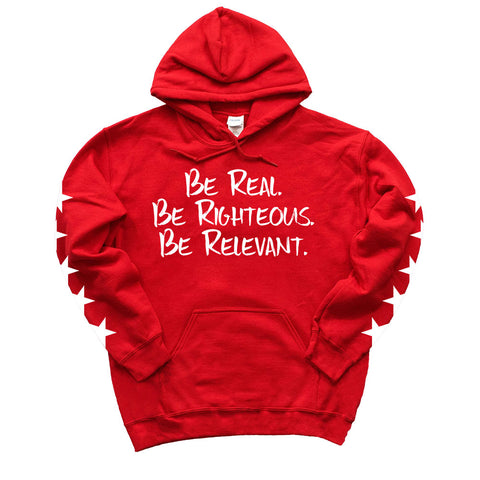 Five-Star Edition Red Hoodie