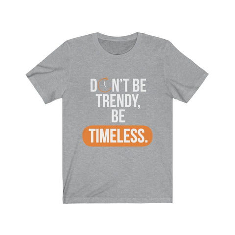 TIMELESS 2nd Edition - Short-Sleeve Unisex T-Shirt (Orange)