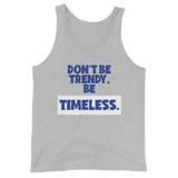 TIMELESS 1st Edition -Unisex Tank Top (Blue)