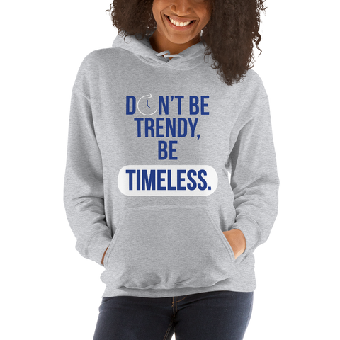 TIMELESS 2nd Edition - Unisex Hoodie (Blue)