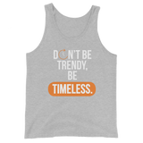 TIMELESS 2nd Edition - Unisex Tank Top (Orange)
