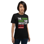 "UNISEX ""Uninfected Faith"" Tshirt (2nd Edition)"