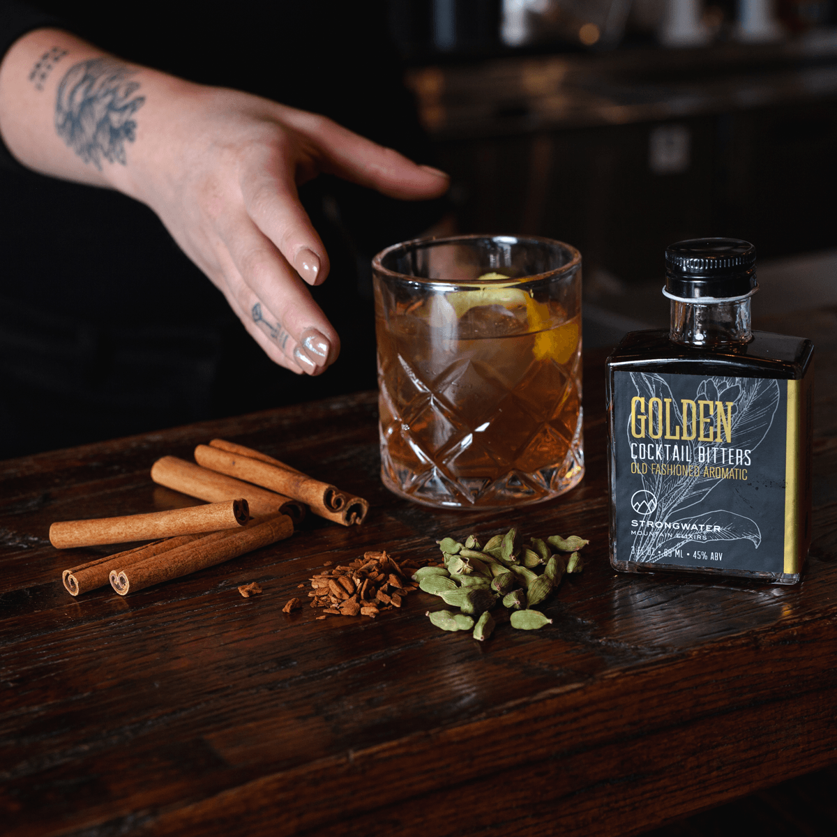 Golden Fashioned