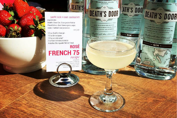 Rose French 75 Cocktail Recipe