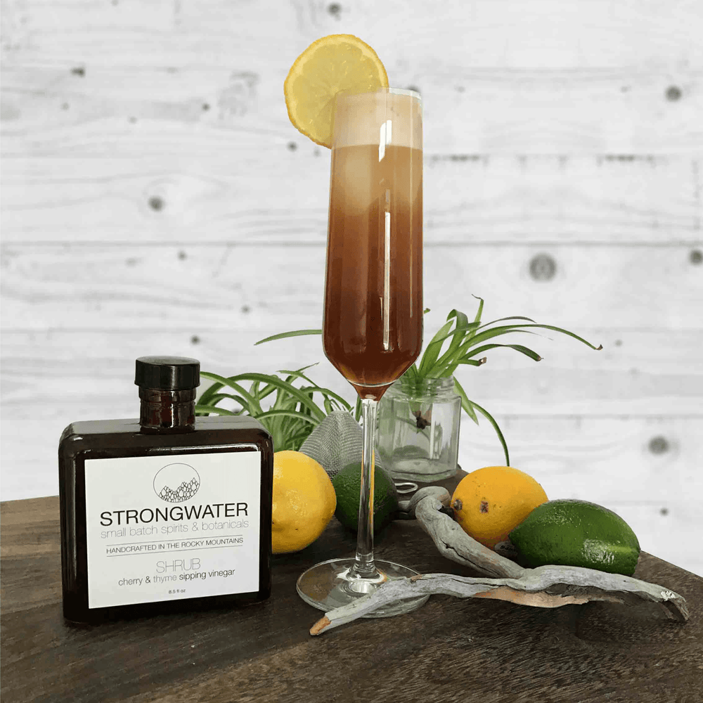 Cherry & Thyme SHRUB - Strongwater - Cocktail Bitters