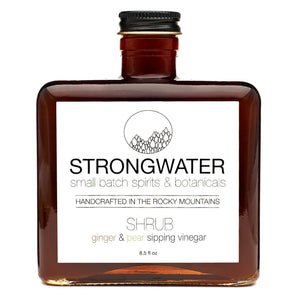 Ginger & Pear SHRUB - Strongwater - Cocktail Bitters