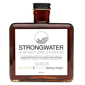 Persimmon & Lavender SHRUB - Strongwater - Cocktail Bitters