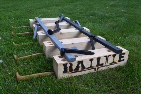 Original RailTie Set w/Oak Rails