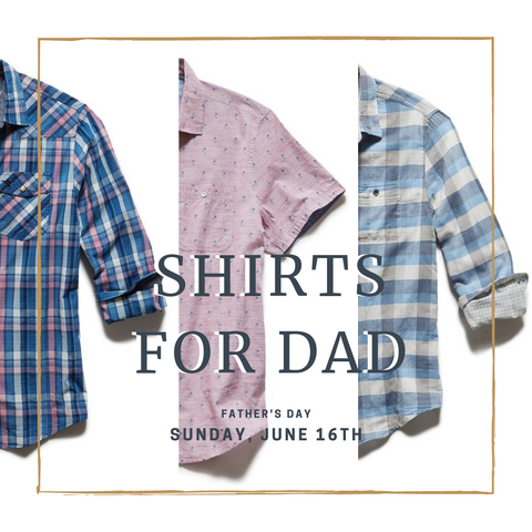 The perfect Father's Day gift for dad, Flag & Anthem shirts.