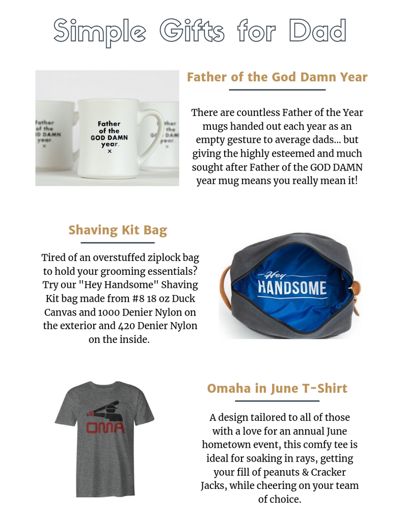 Simple Father's Day Gift Ideas