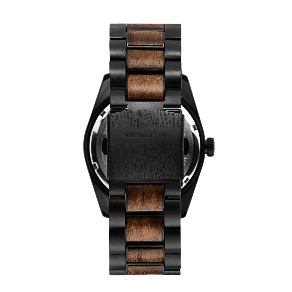 Ebony Black Classic 43mm Watch