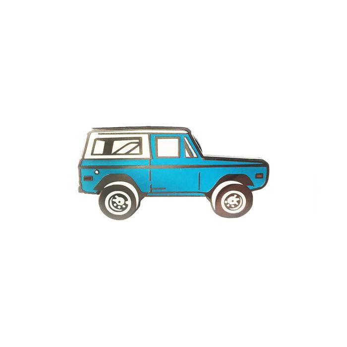 Bronco Enamel Pin
