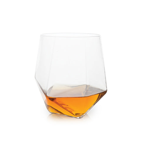 Seneca™ Faceted Crystal Tumblers