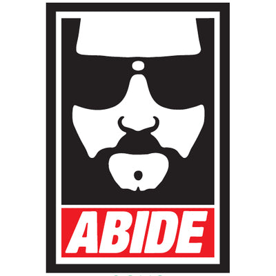 Abide (the Dude) -Magnet