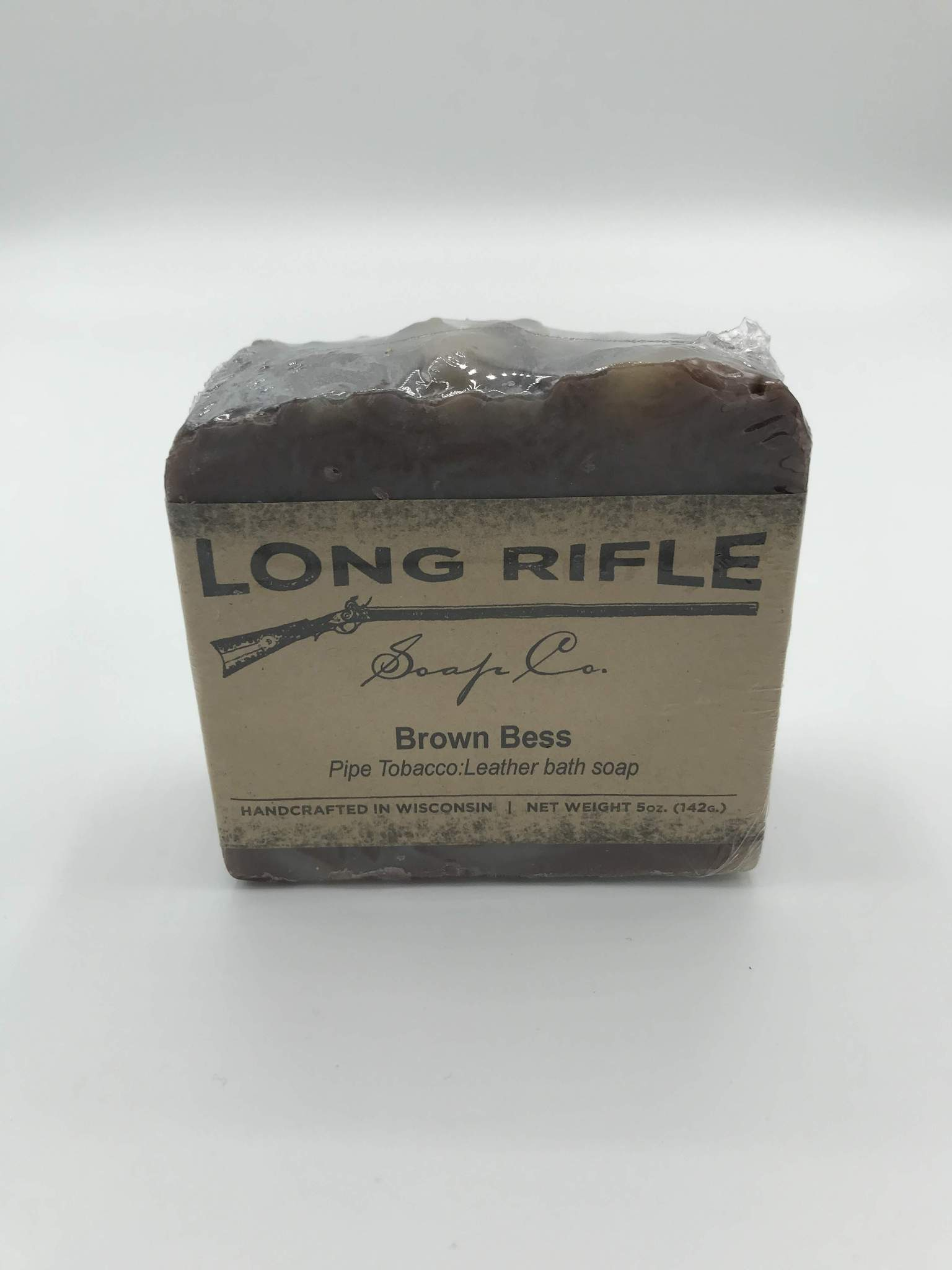 Long Rifle Bar Soap 5oz - Brown Bess
