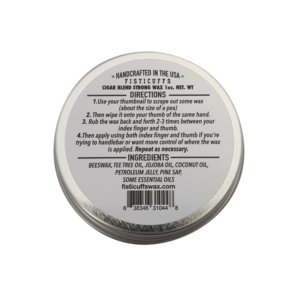 Strong Hold Mustache Wax - Vanilla Cigar Blend