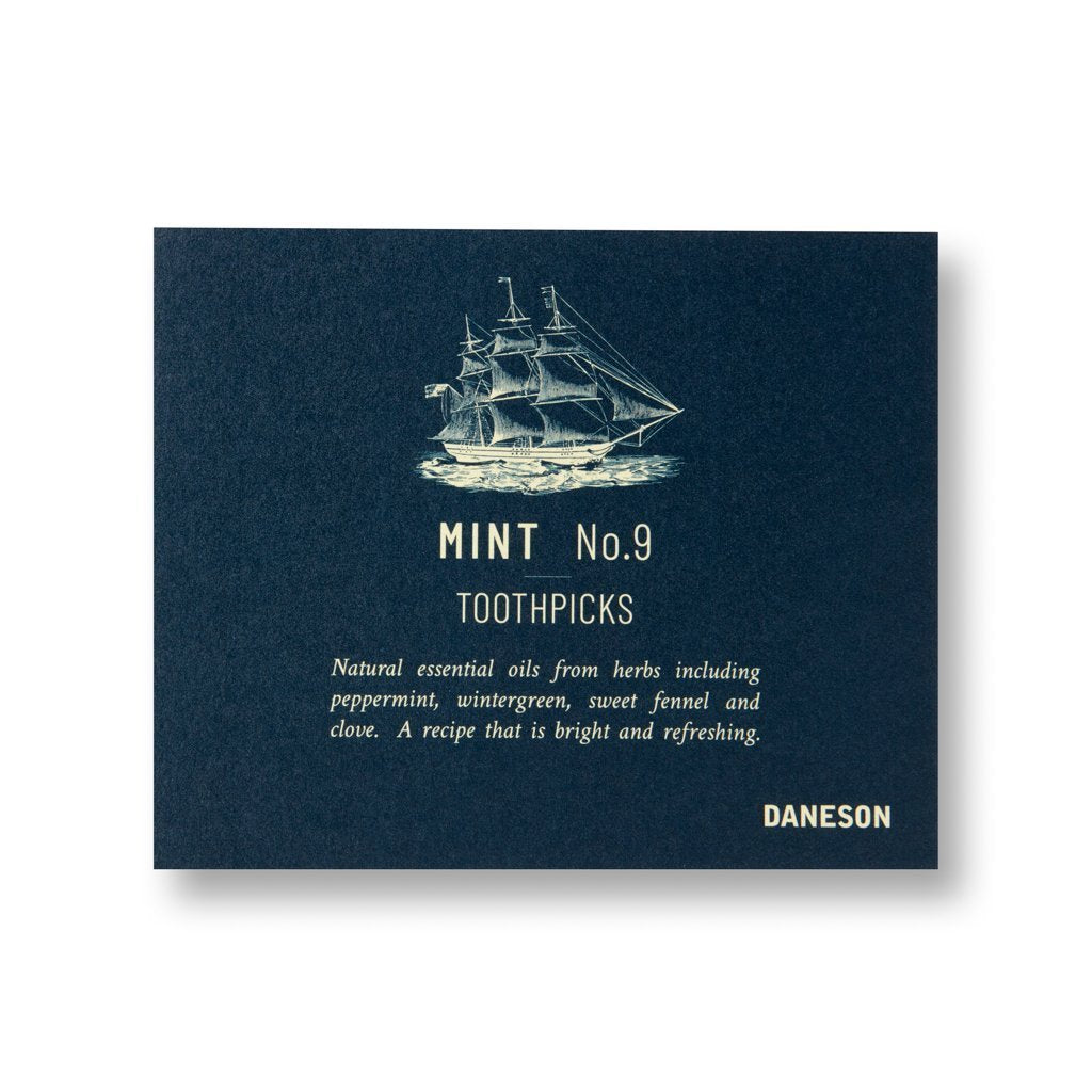 Mint No. 9 toothpick 12ct