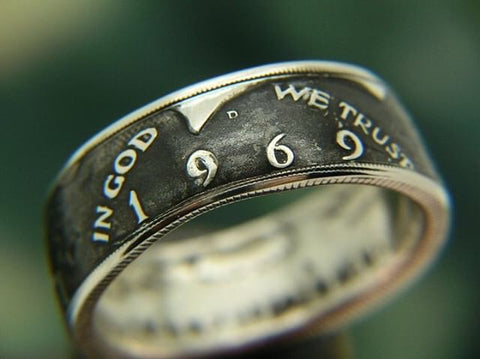 BD- Bicentennial Kennedy 1/2 Dollar Ring
