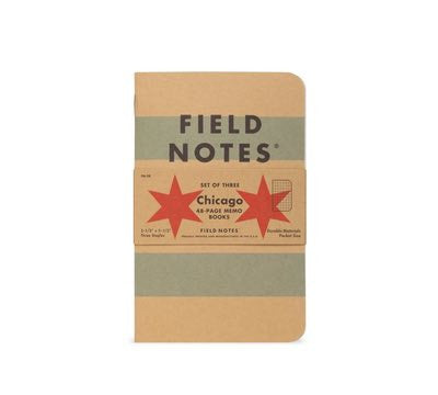 Field Notes 3-pack Chicago