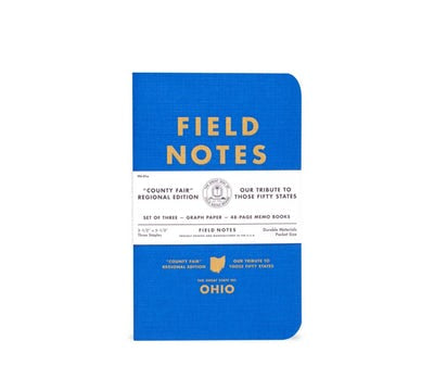 Field Notes 3-pack County Fair Graph Paper