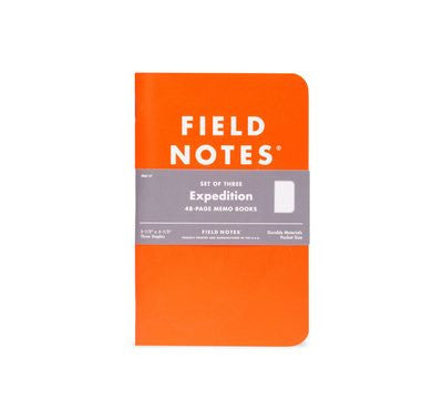 Field Notes 3-pack Expedition