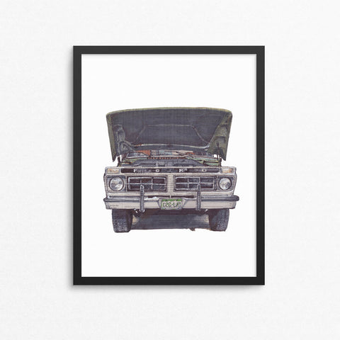 Ford No. 1 13x19 Unframed Print