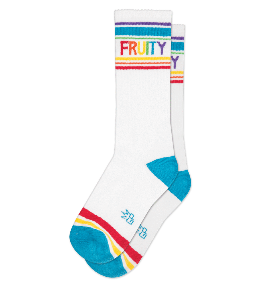 FRUITY Ribbed Gym Sock
