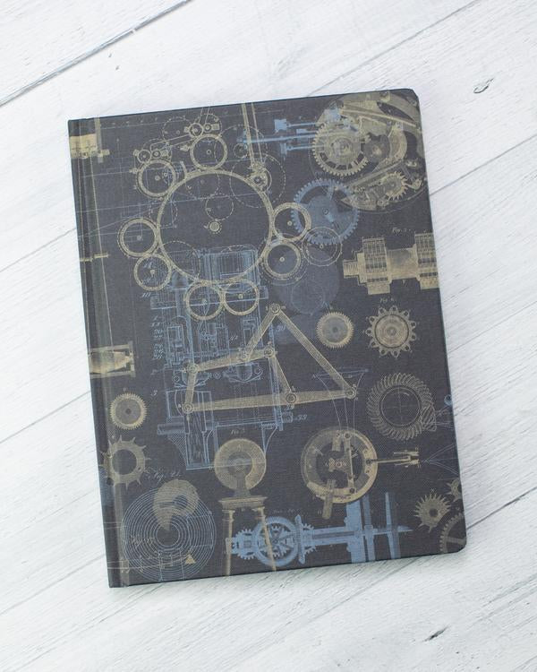 Mechanical Engineering Hardcover Notebook - Dot Grid