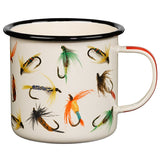 Enamel Mug Flies - Cream