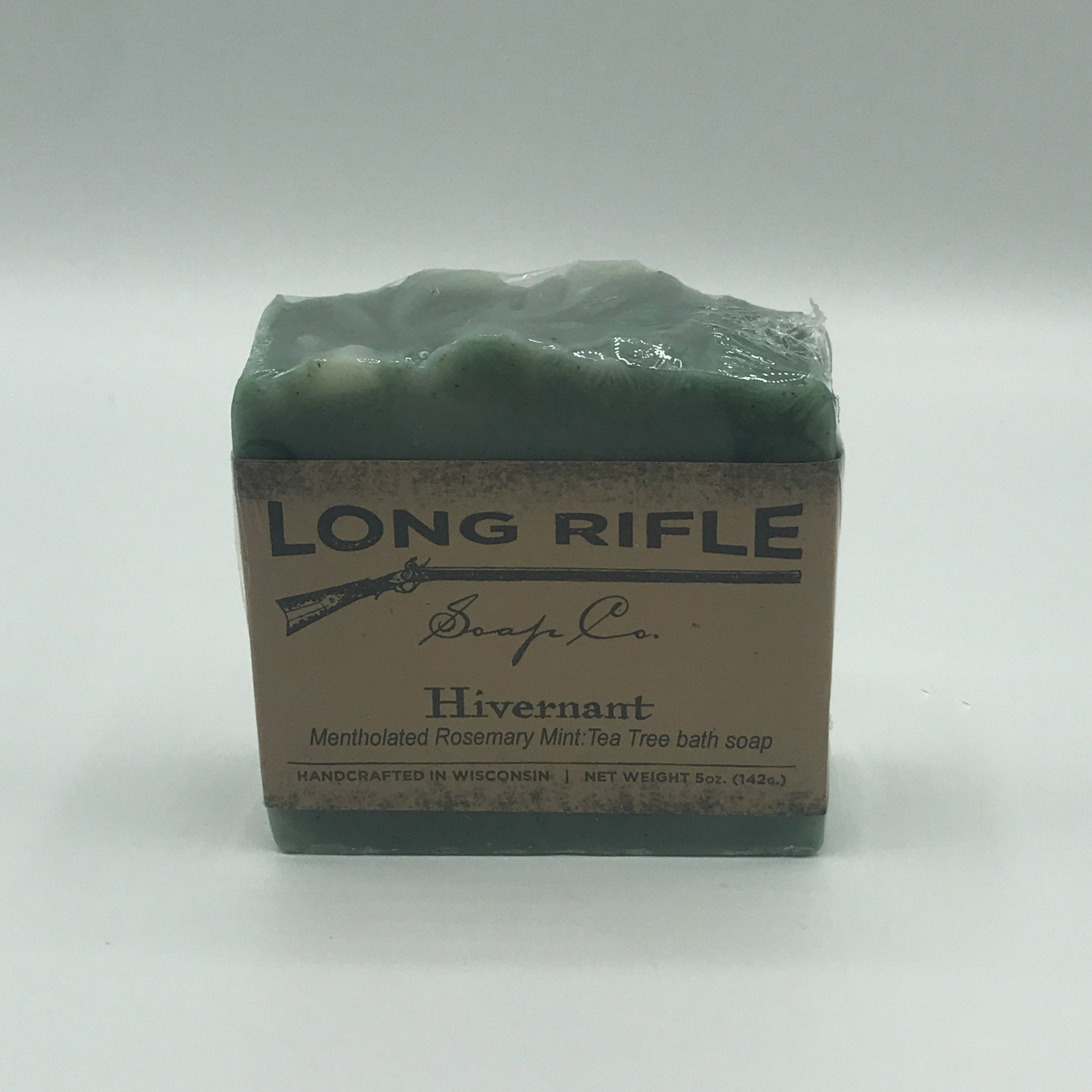 Long Rifle Bar Soap 5oz - Hivernant