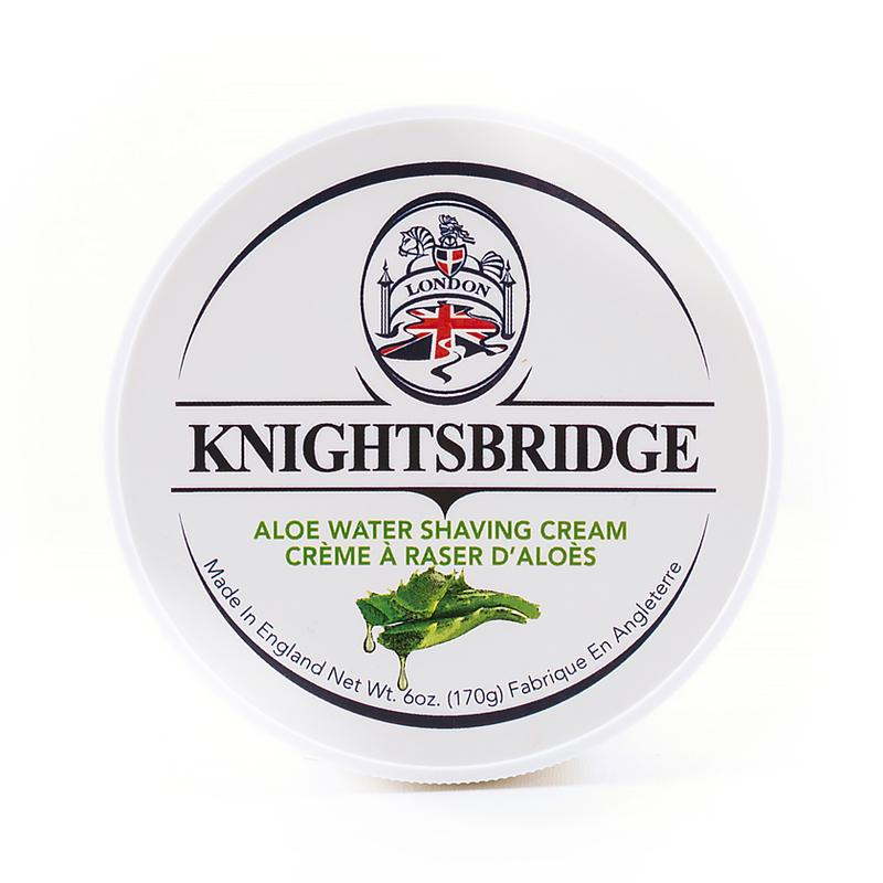 Knightsbridge Shave Cream - Aloe Water