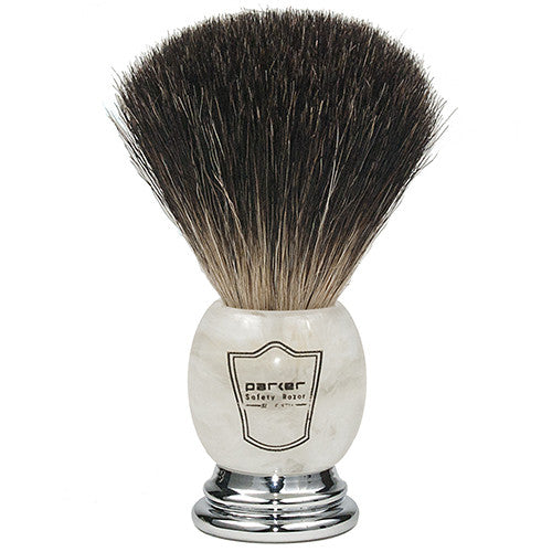 Ivory Handle Black Badger Brush
