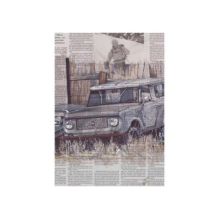 Scout No.1  13x19 Unframed Print