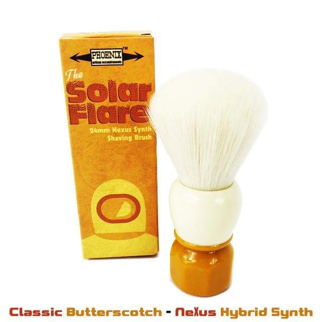 Solar Flare Shaving Brush - Synthetic 24mm
