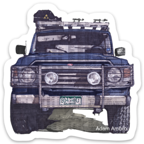 FJ60 Sticker