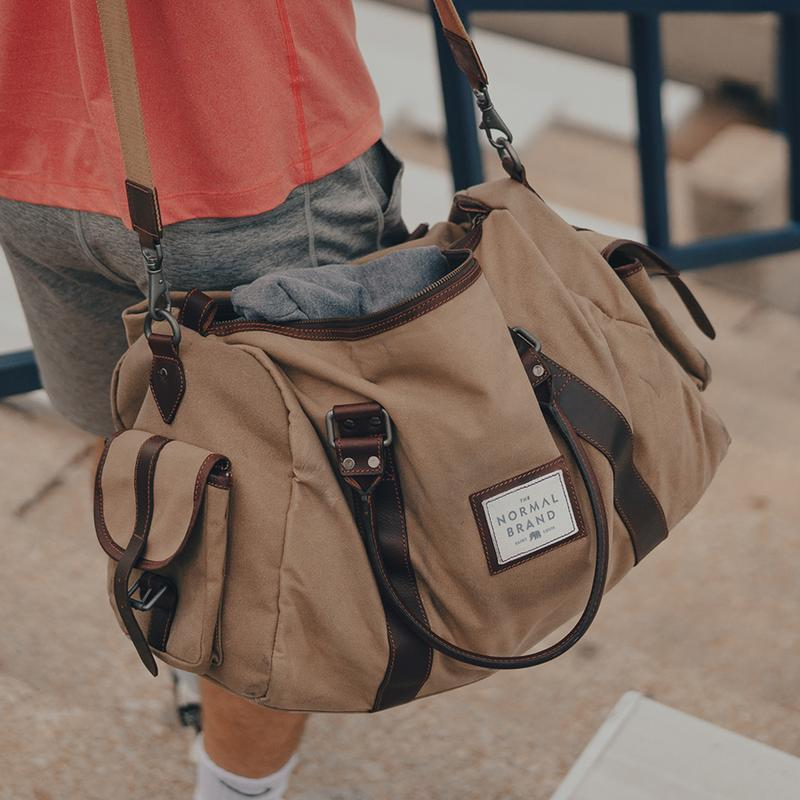 Garrett Weekend Bag - Tan