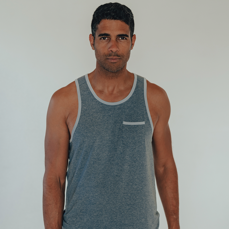 Active Puremeso Tank - Blue