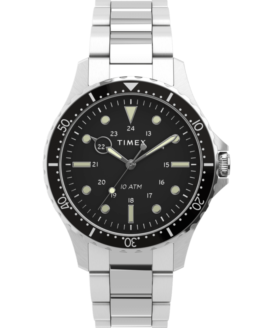 Navi XL 41mm Stainless Steel Bracelet Watch