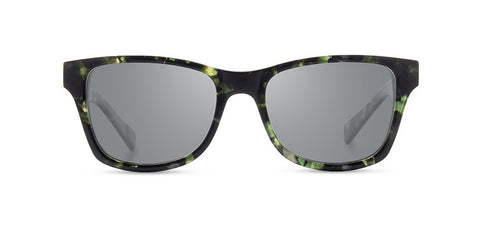 Shwood Eyewear Canby - Dark Forest/Elm - Grey Polarized