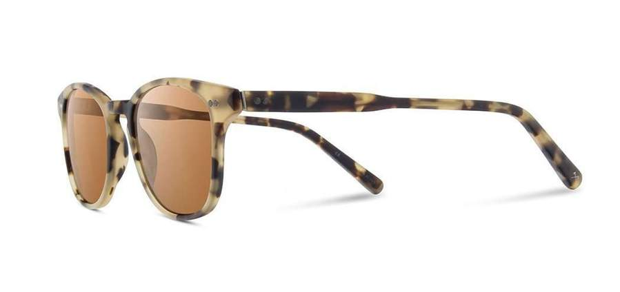 Shwood Eyewear Kennedy - Matte Havana - Brown Polarized