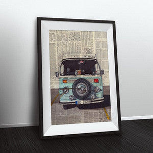 Westfalia 13x19 Framed Print