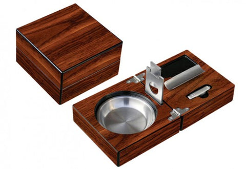 Folding Ashtray set