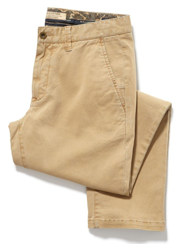Castleton Chino - Oakland Slim Fit - Bamboo Khaki