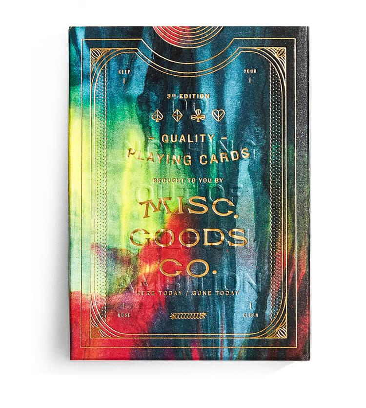 Misc. Goods Co. Playing Cards